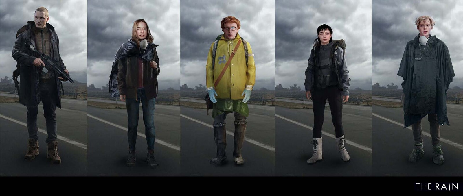 Character concept design for Netflix series