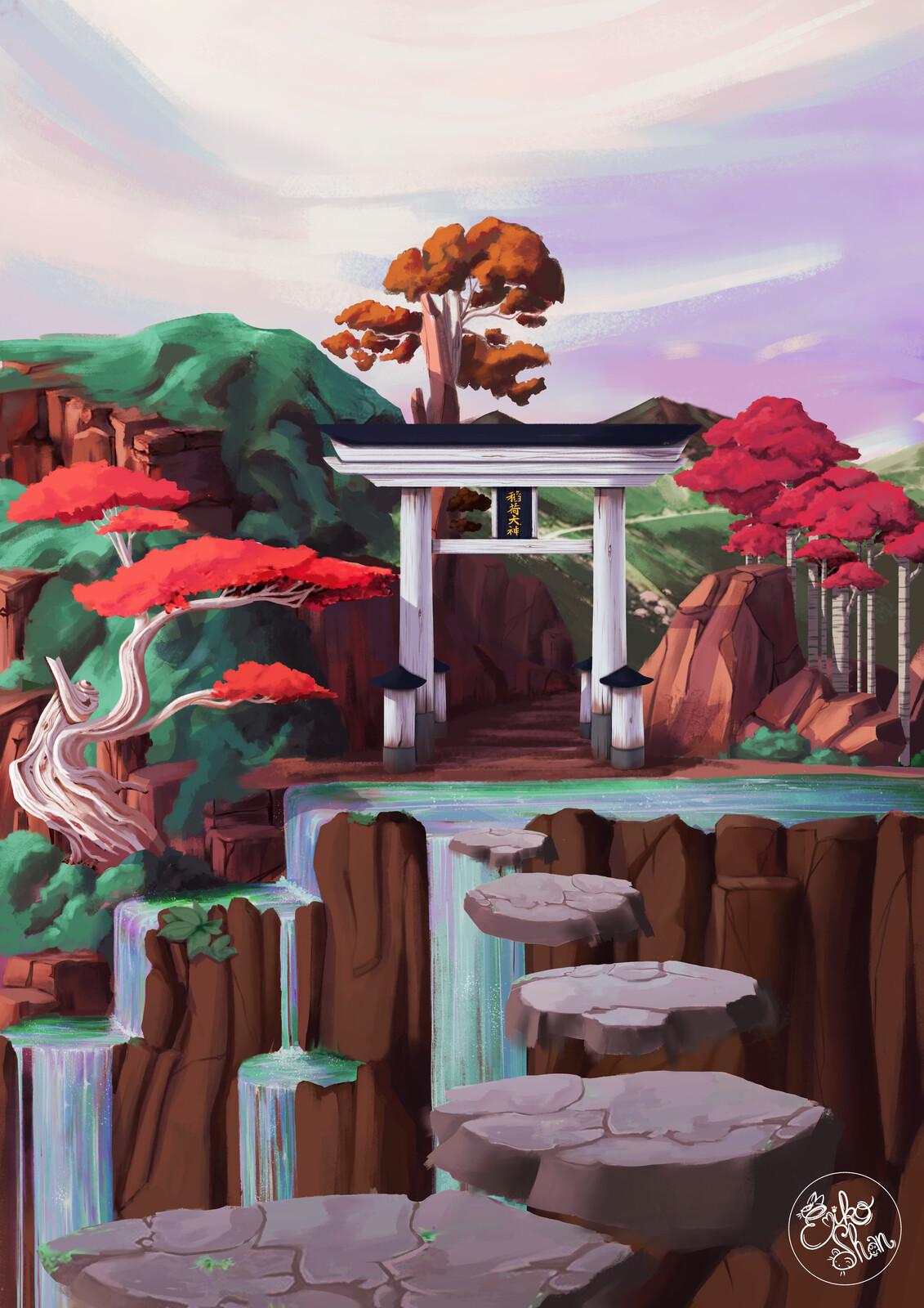 Mysterious torii