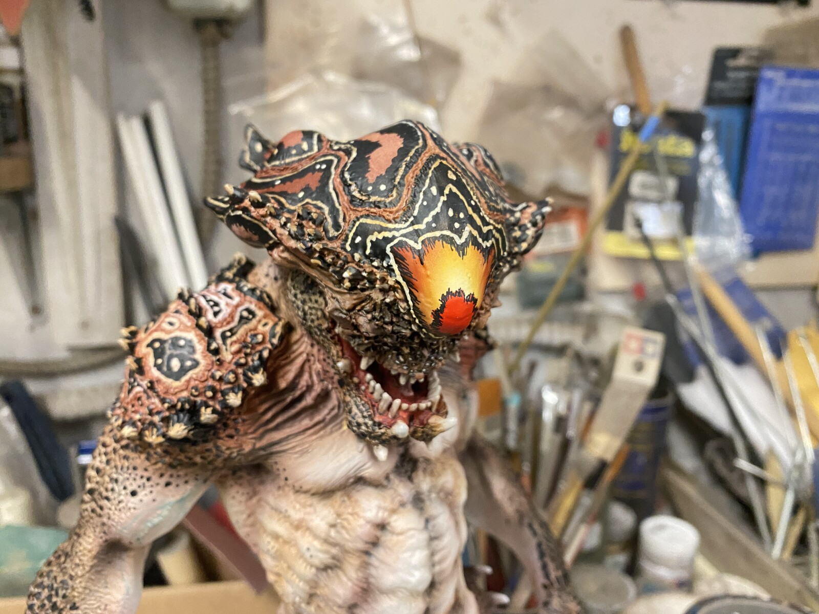 Guyver The Bio-Booster Lisker Art Statue  https://www.solidart.club