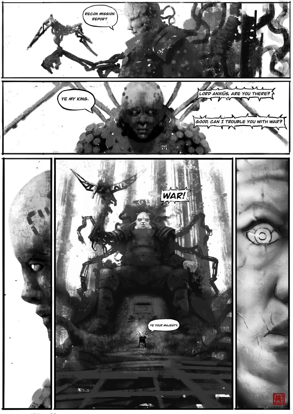 The Mushroom World: Test Page//01