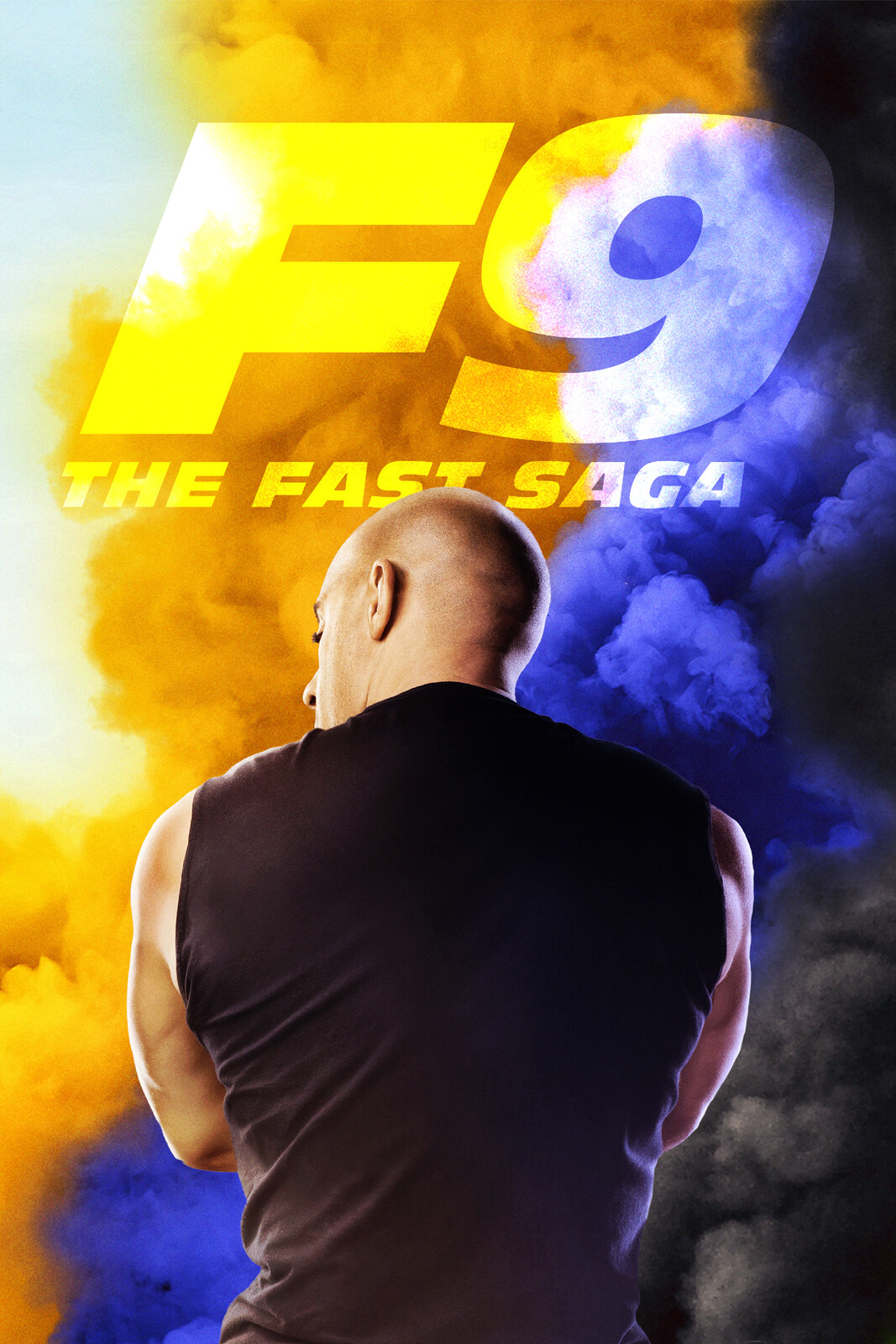 Fast and Furious F9 Alternate Movie Poster