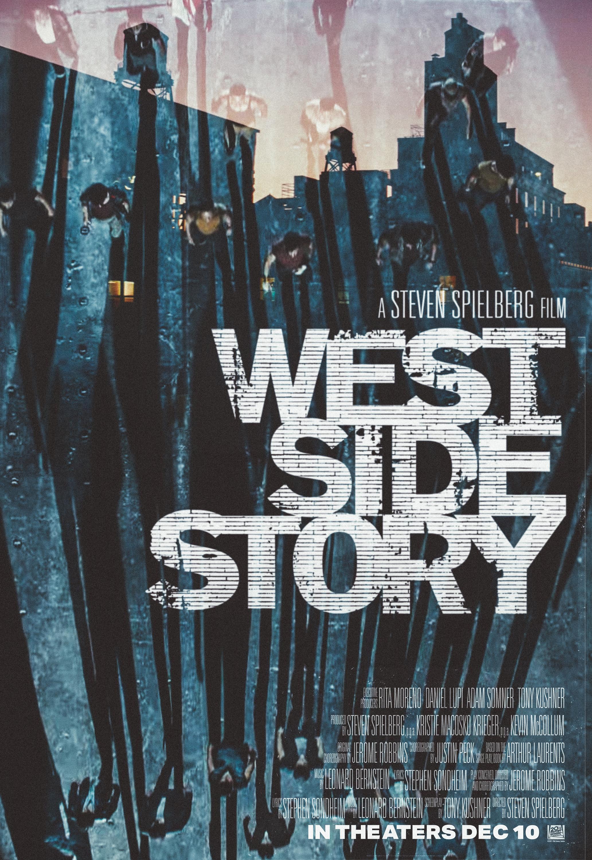 Steven Spielberg's West Side Story - Alternate Key Art Cover