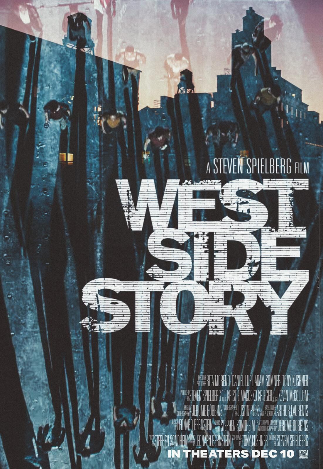 Steven Spielberg's West Side Story - Alternate Movie Poster