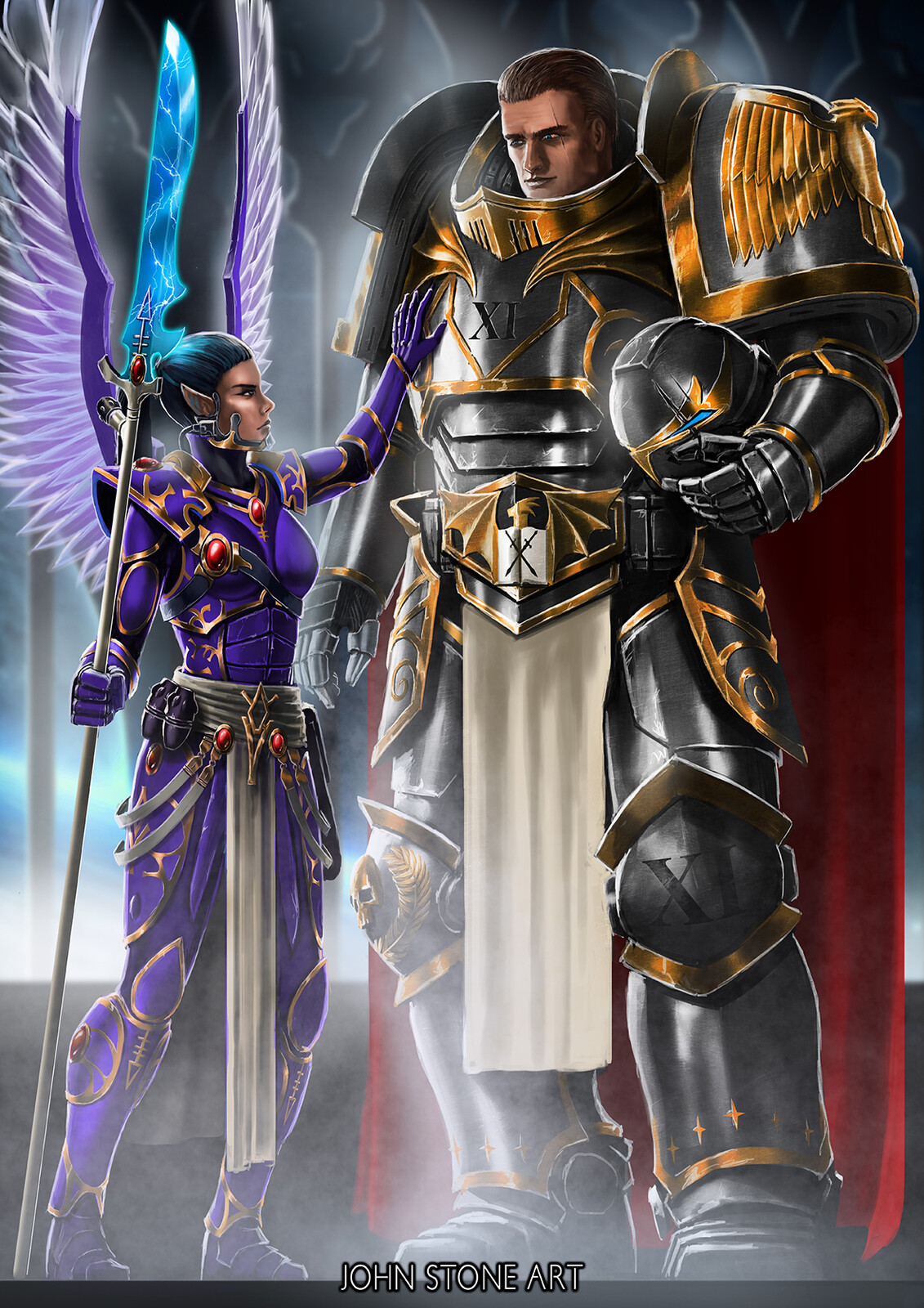 Alric and the Autarch