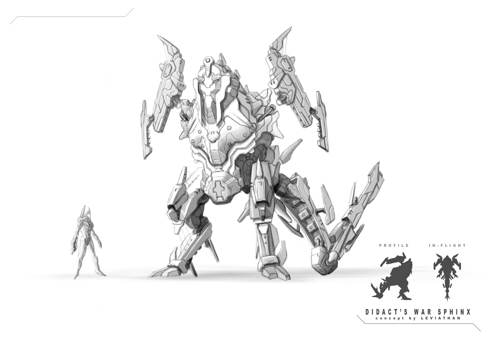 Didact's War Sphinx