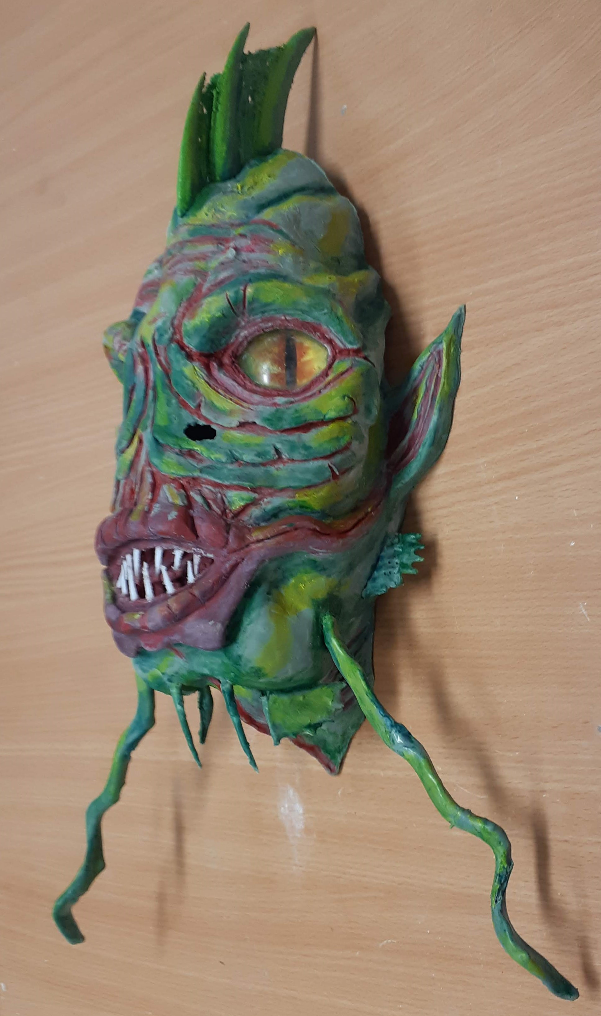 Painted Completed Mask