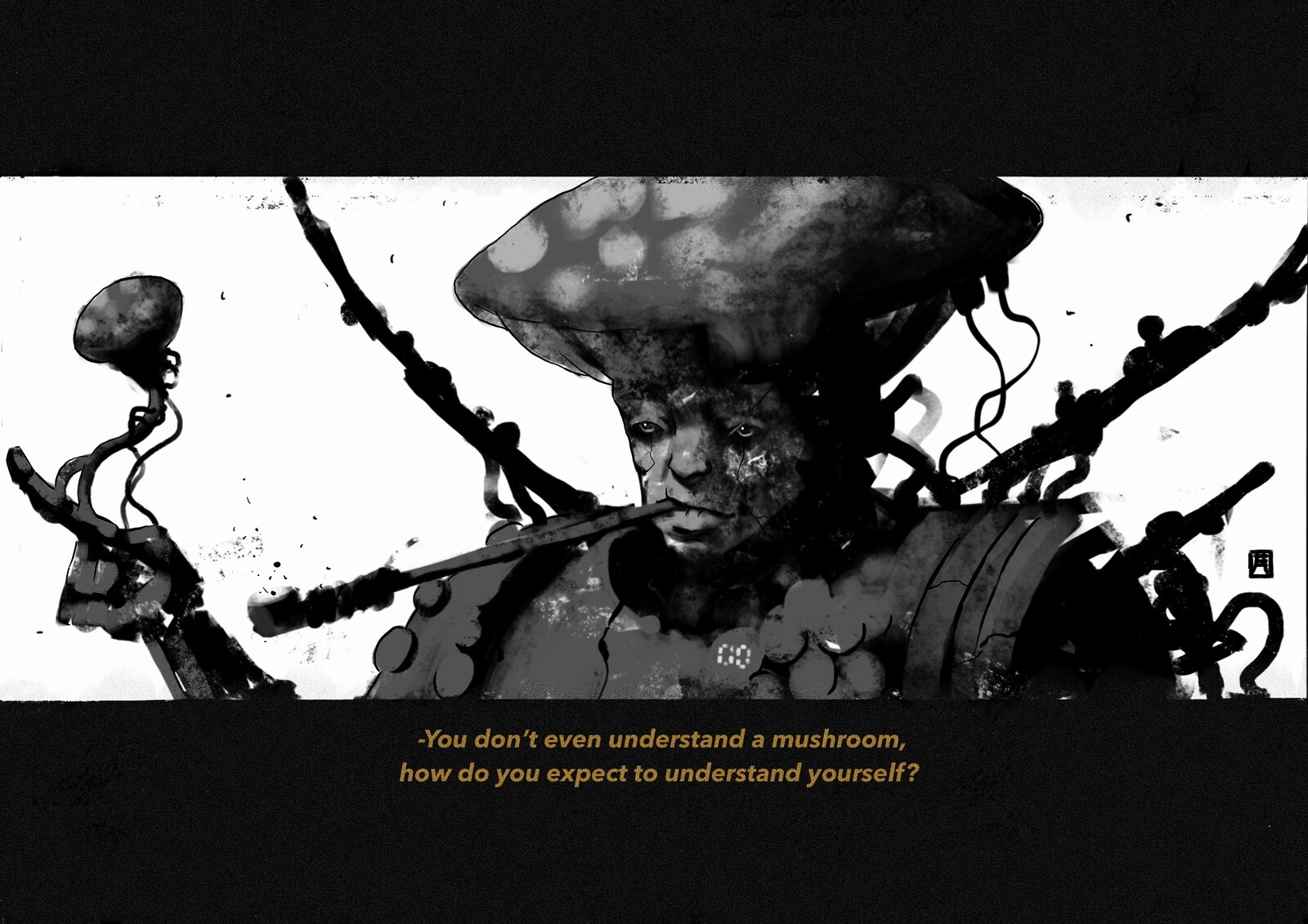 The Mushroom World: Mushroom Hermit//00
