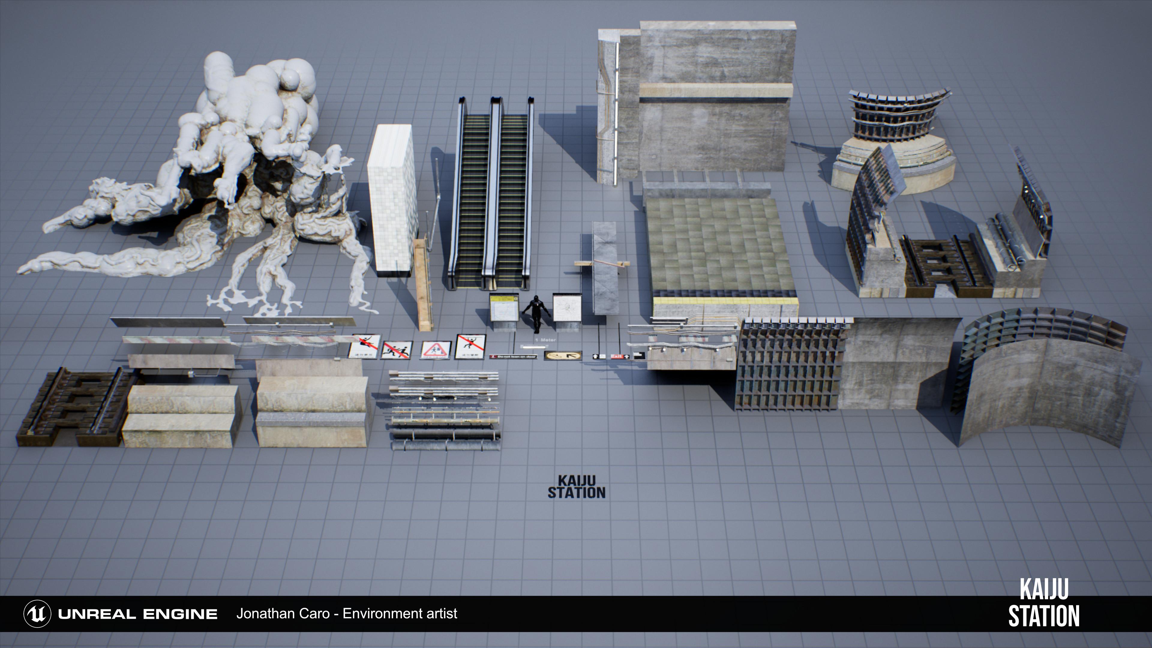 Modular kit used to build entire envio.