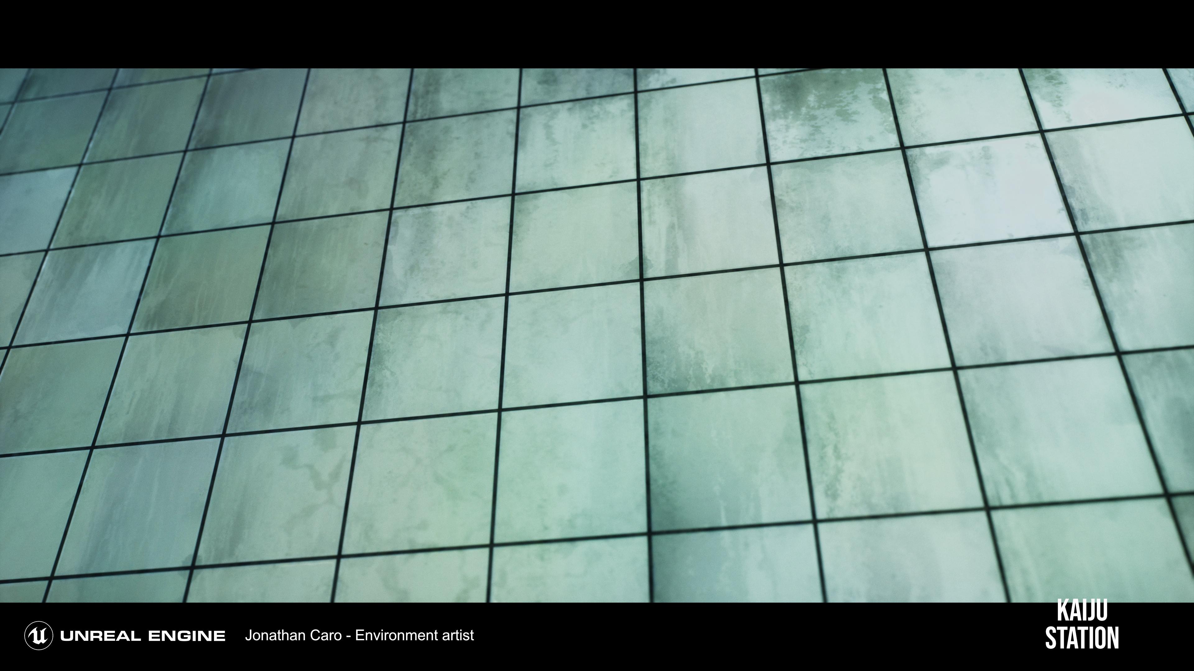 platform wall tiles created with substance designer