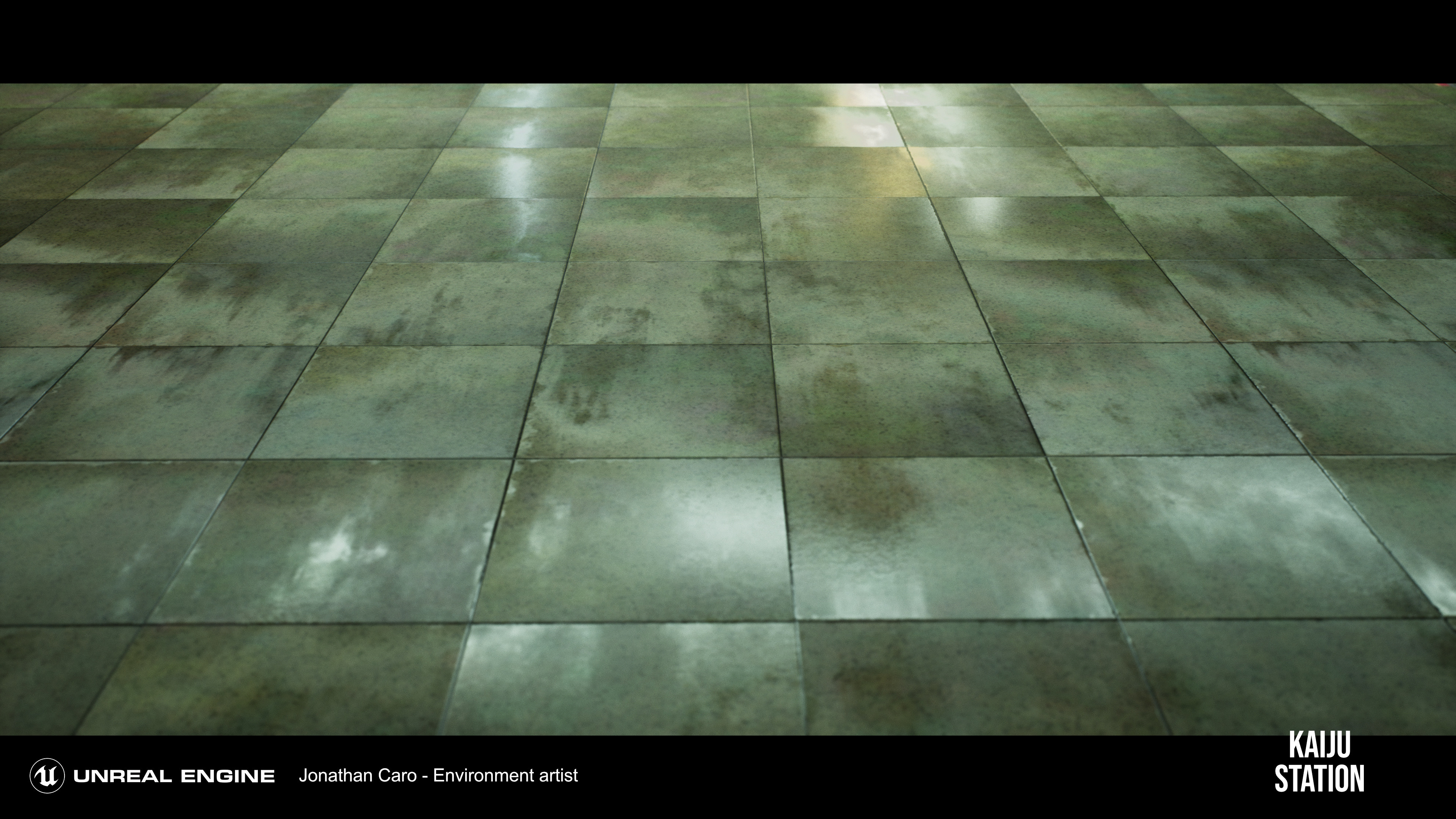 platform ground tiles created with substance designer