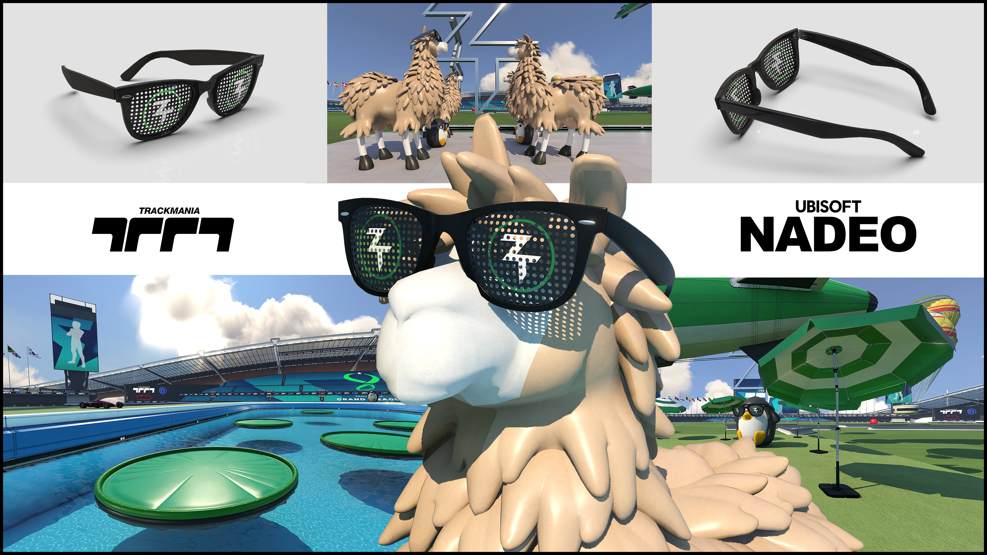 Trackmania Cup Zerator's Items Mash Up.   June 12th Zerator Gonna Start Making Maps Live On Twitch.  After Each Live He delivers The Maps To players Trough His Trackmania Club So People Can Start Training.    Qualifications For The TM Cup Start 17th July.