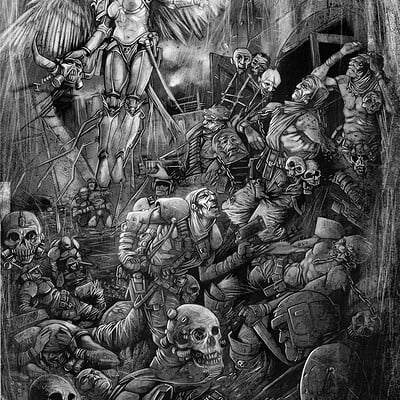 Lee carter gamesworkshop illustration 8