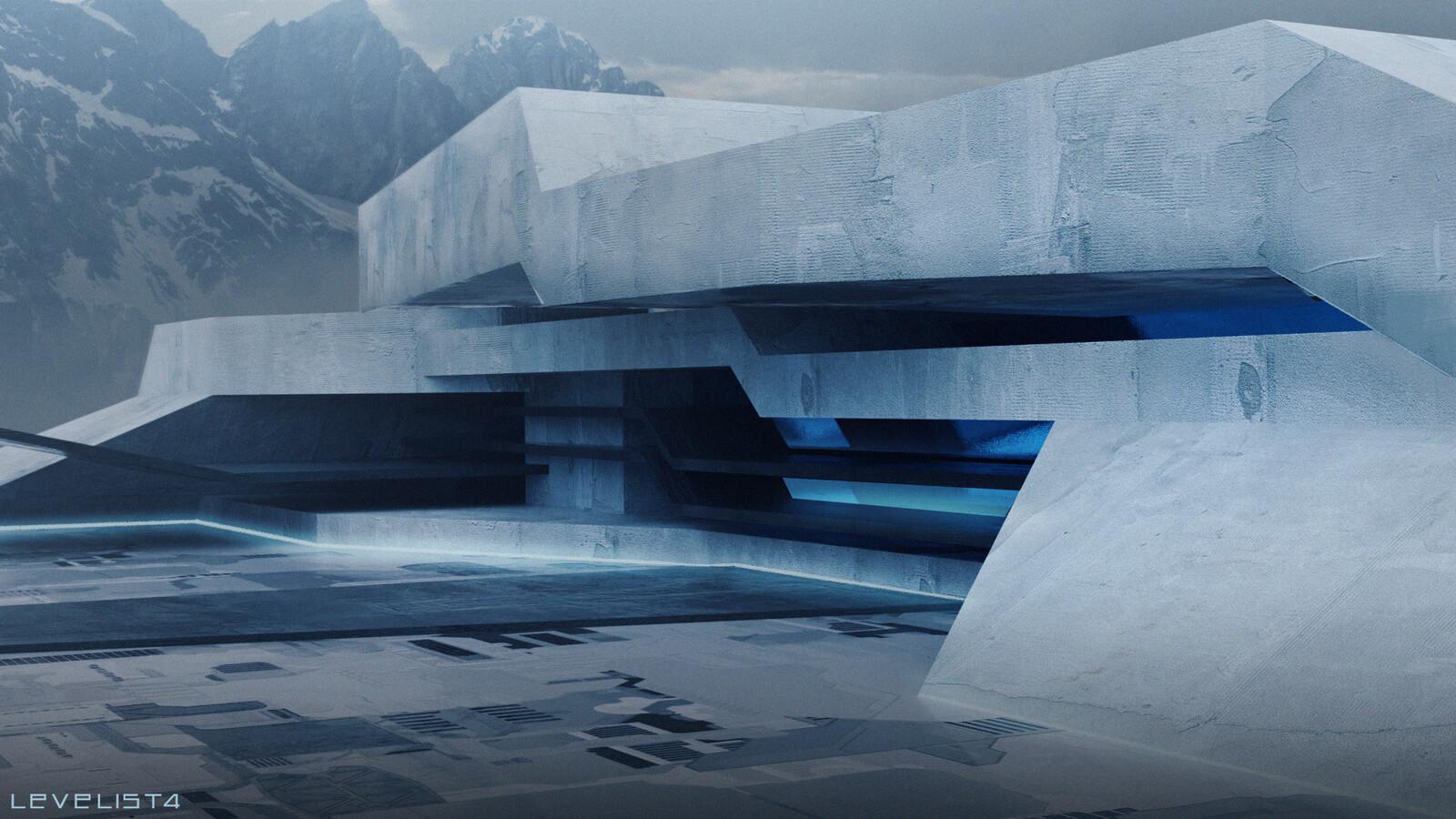 Futuristic Villa Concept