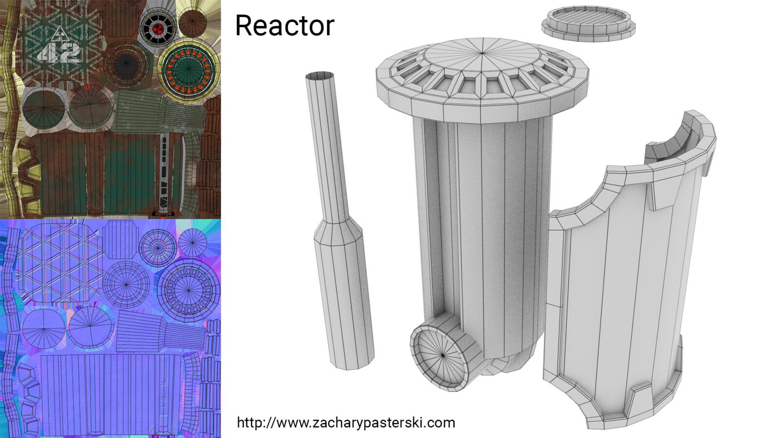 reactor texture breakdown