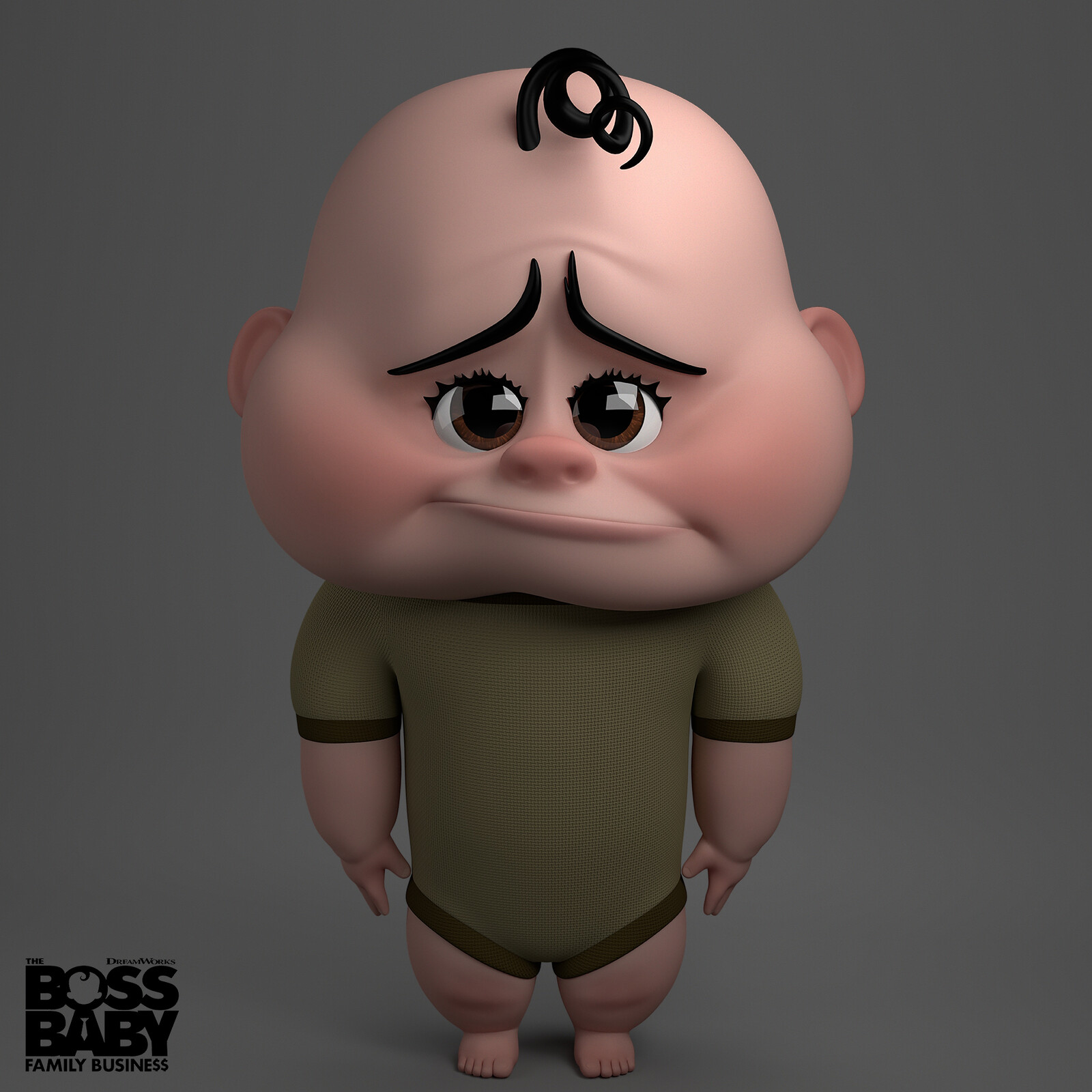 Glue Baby from The Boss Baby: Family Business