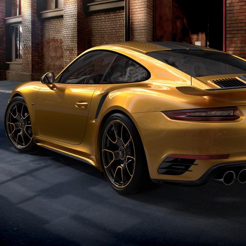Porsche 911 Turbo S Exclusive Edition