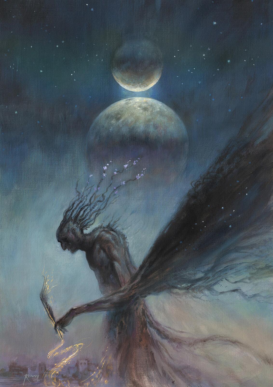 The moons of Lirba