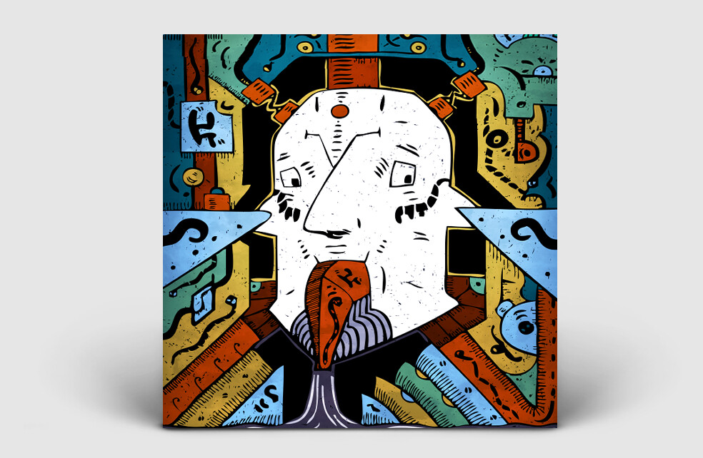 Metal music cover art for album