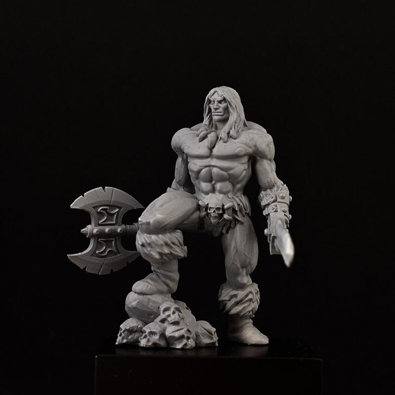 The Barbarian miniature