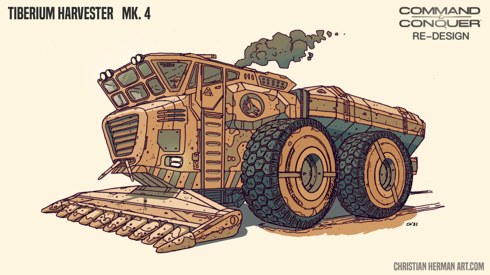 Tiberium Harvester Re-Design