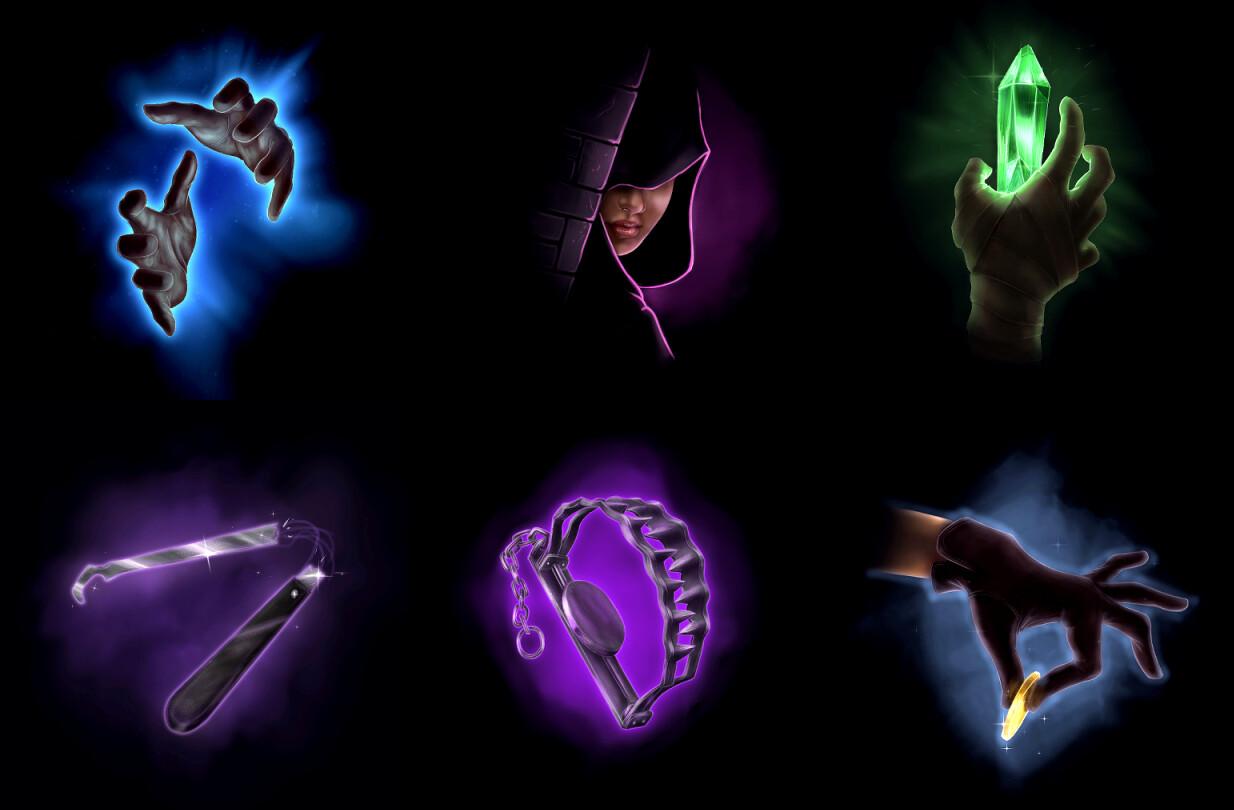Rogue Icons