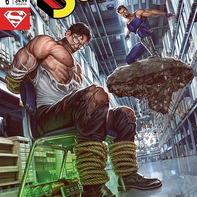 Caio cacau superman cover copy