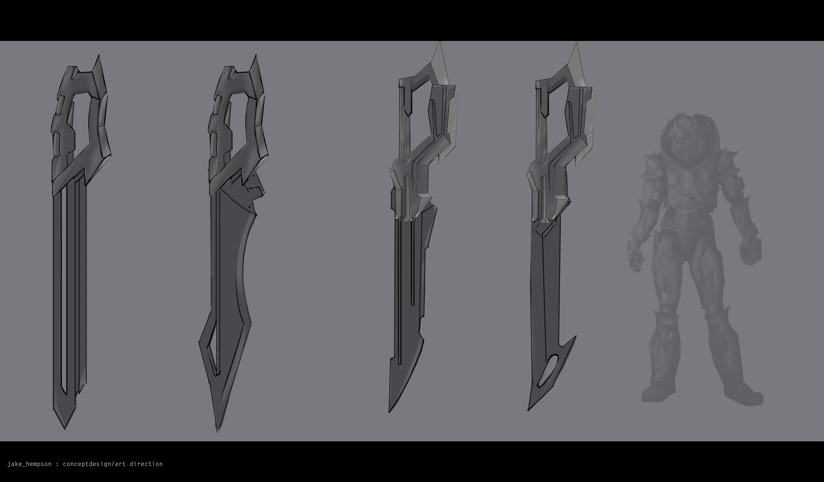 Refined thumbnails of swords