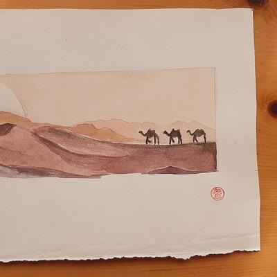 Midori yajima 2013 i tre cammelli