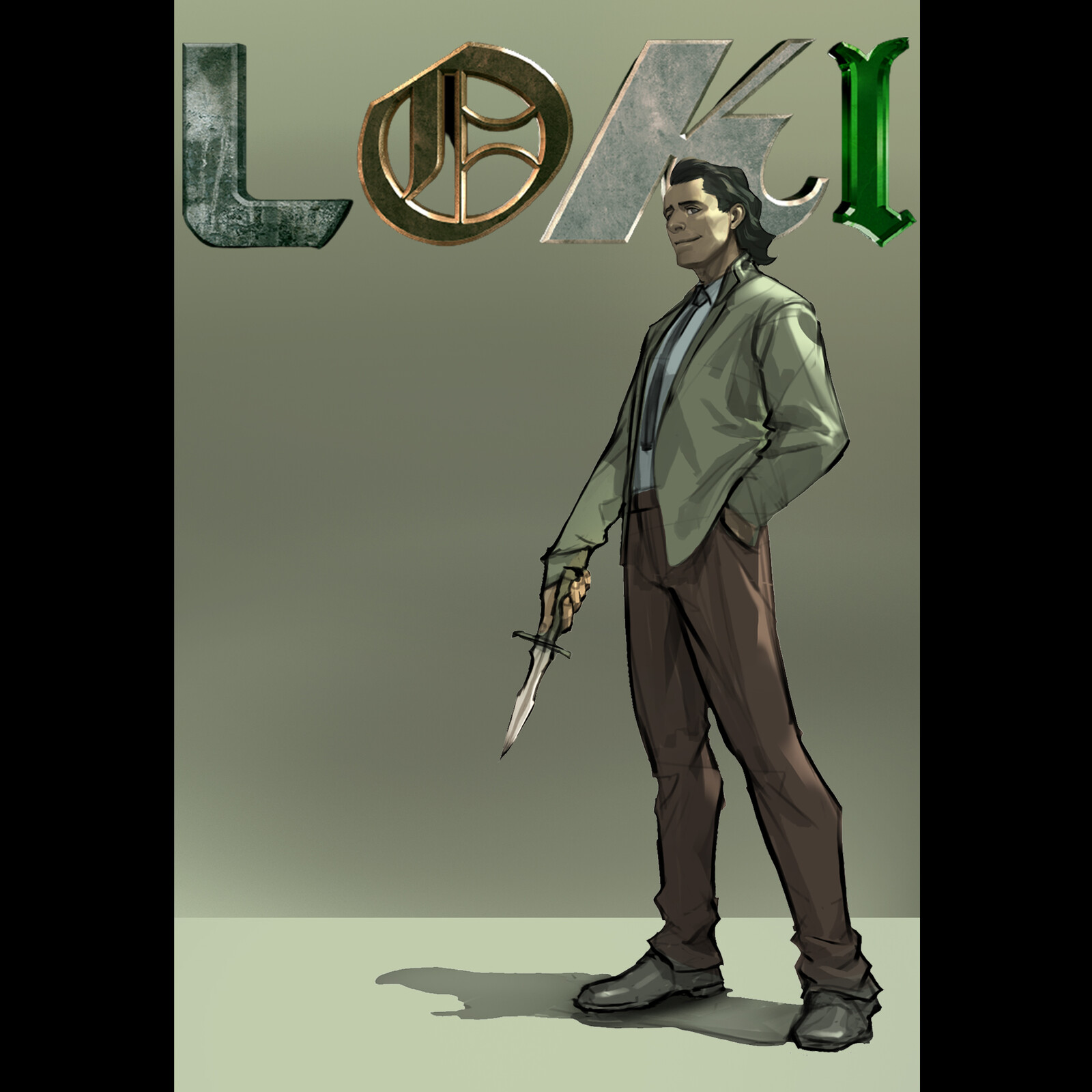 Loki Laufeyson Fanart