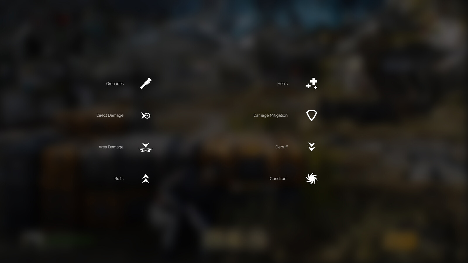 Designs for the offscreen indicators