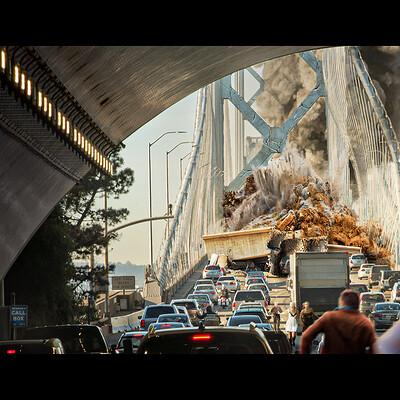 Rai serrano how to survive a bridge collapse frame