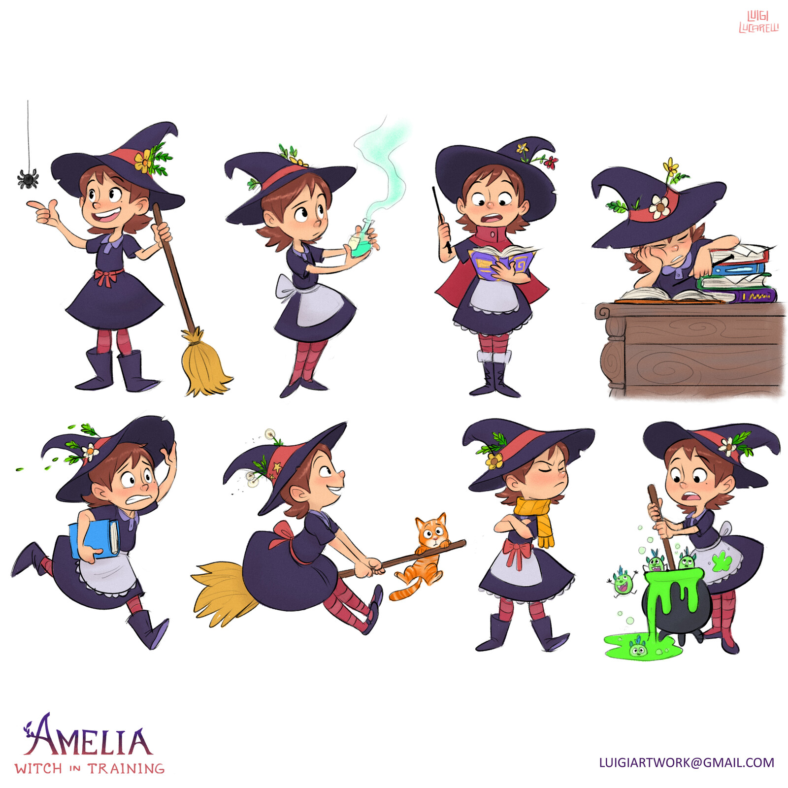 Amelia - Witch in Training