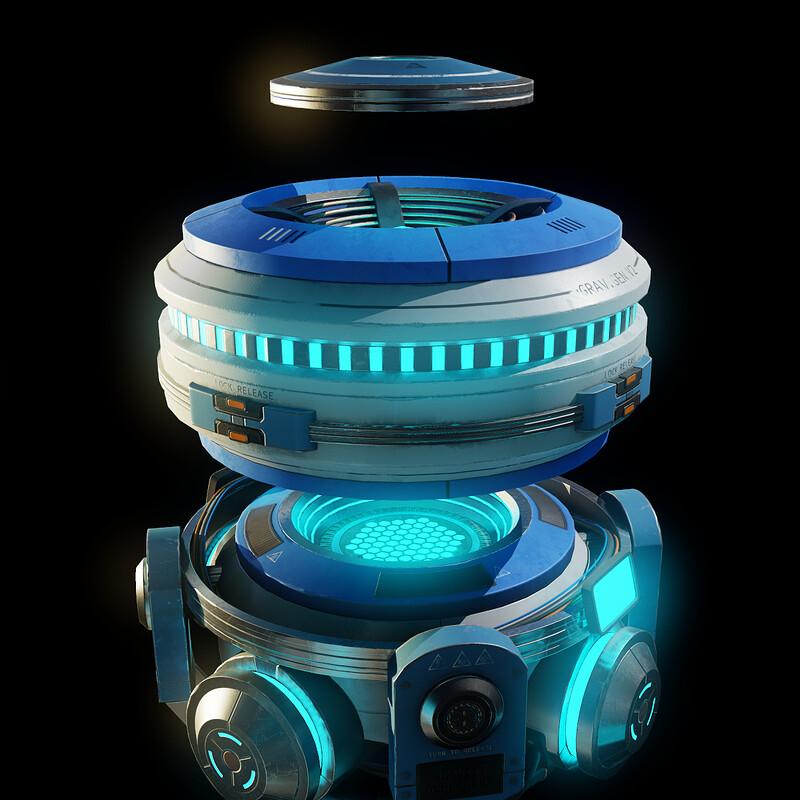 Anti Gravity Engine