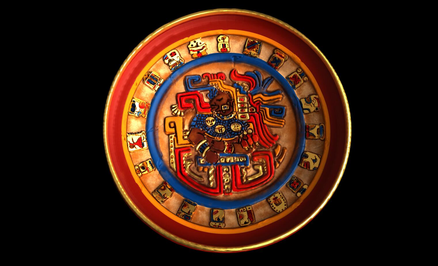 Mayan Tray