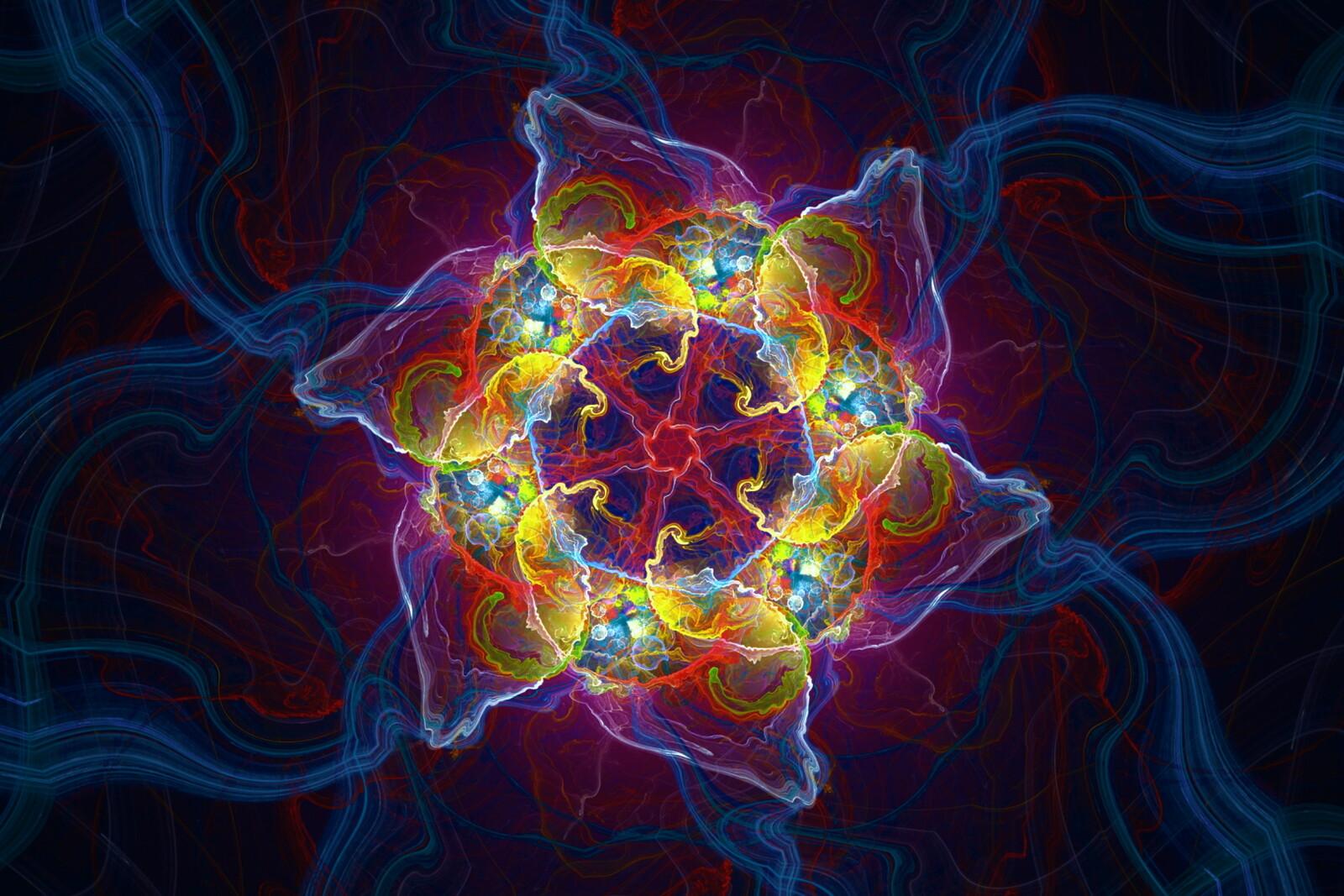 Base fractal render