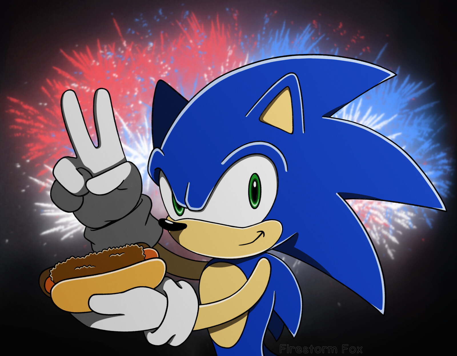 Sonic Independence Day