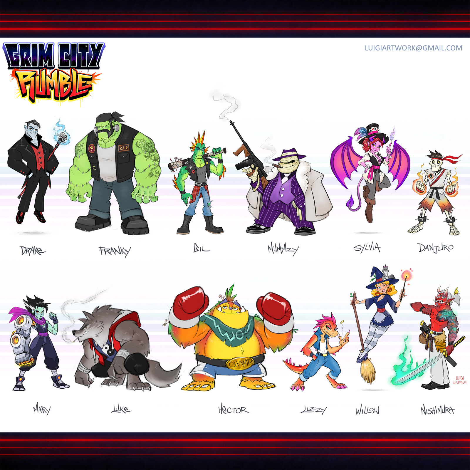 Grim City Rumble