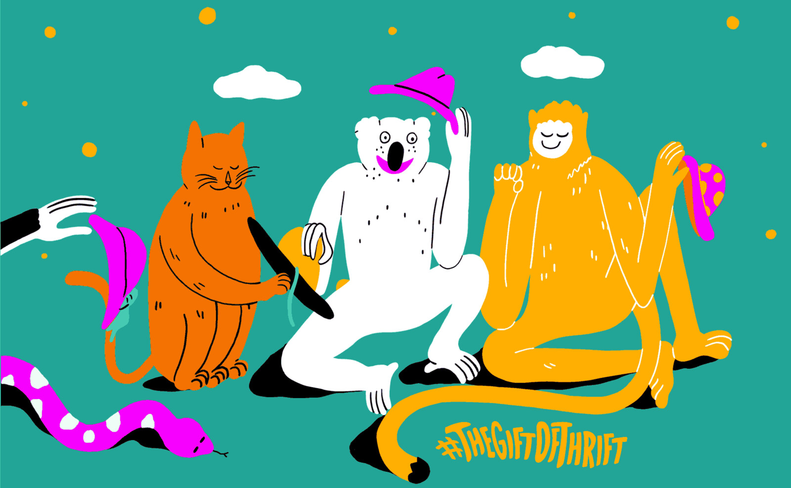 The gift of thrift gif animations