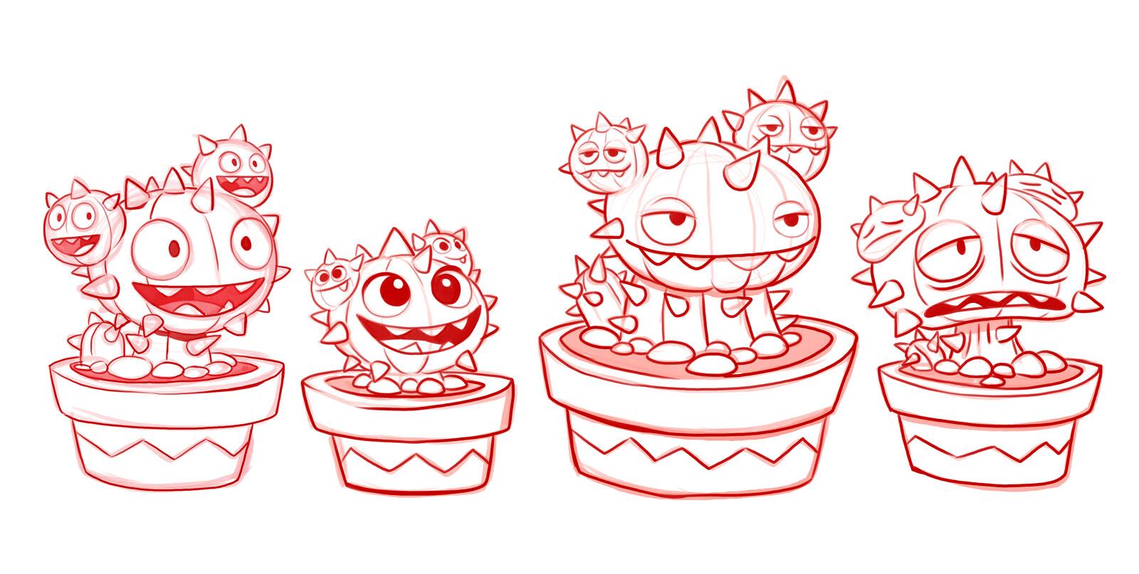 Cacti Control Art