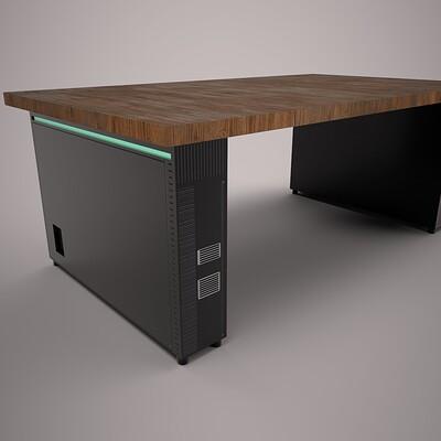 Alexander laheij desk render 01