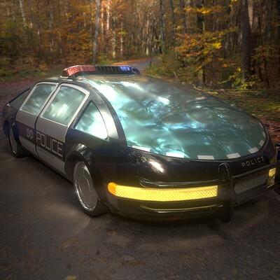 Alexander laheij police car render 01