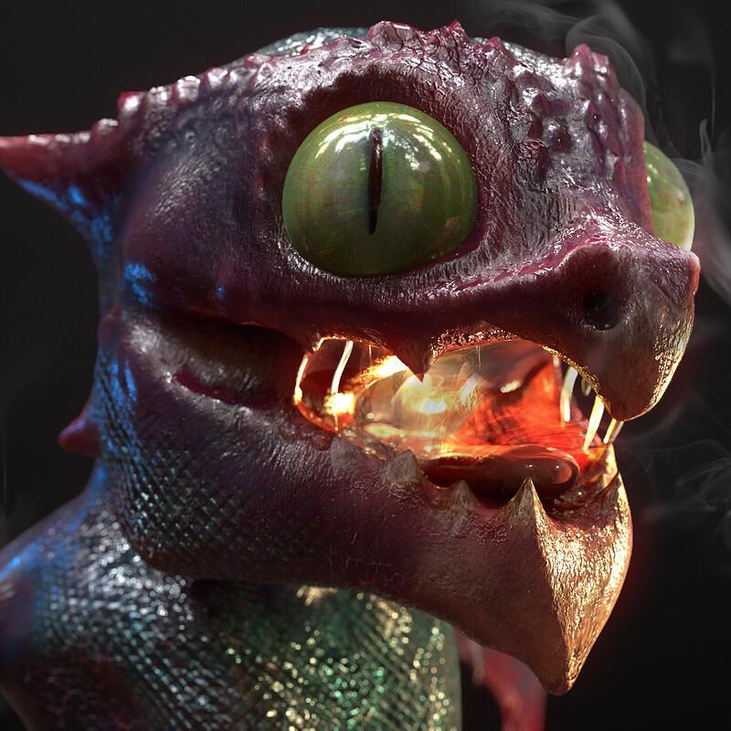Baby Cheese Dragon