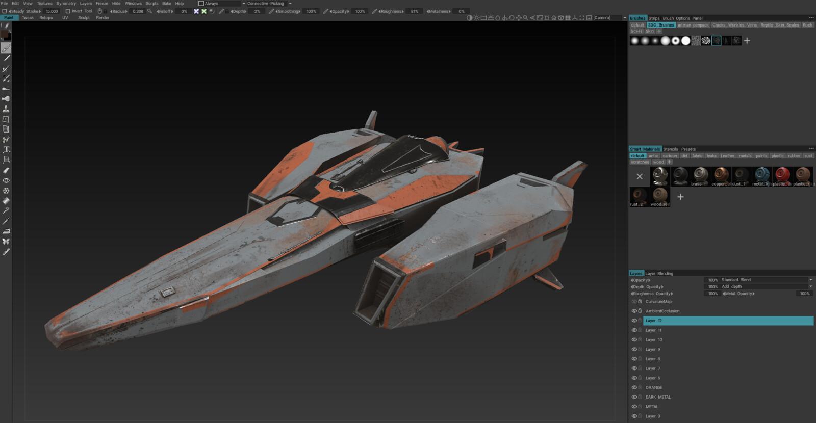 3DCoat Screenshot
