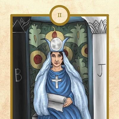 Imelda wei ding lo ii the high priestess