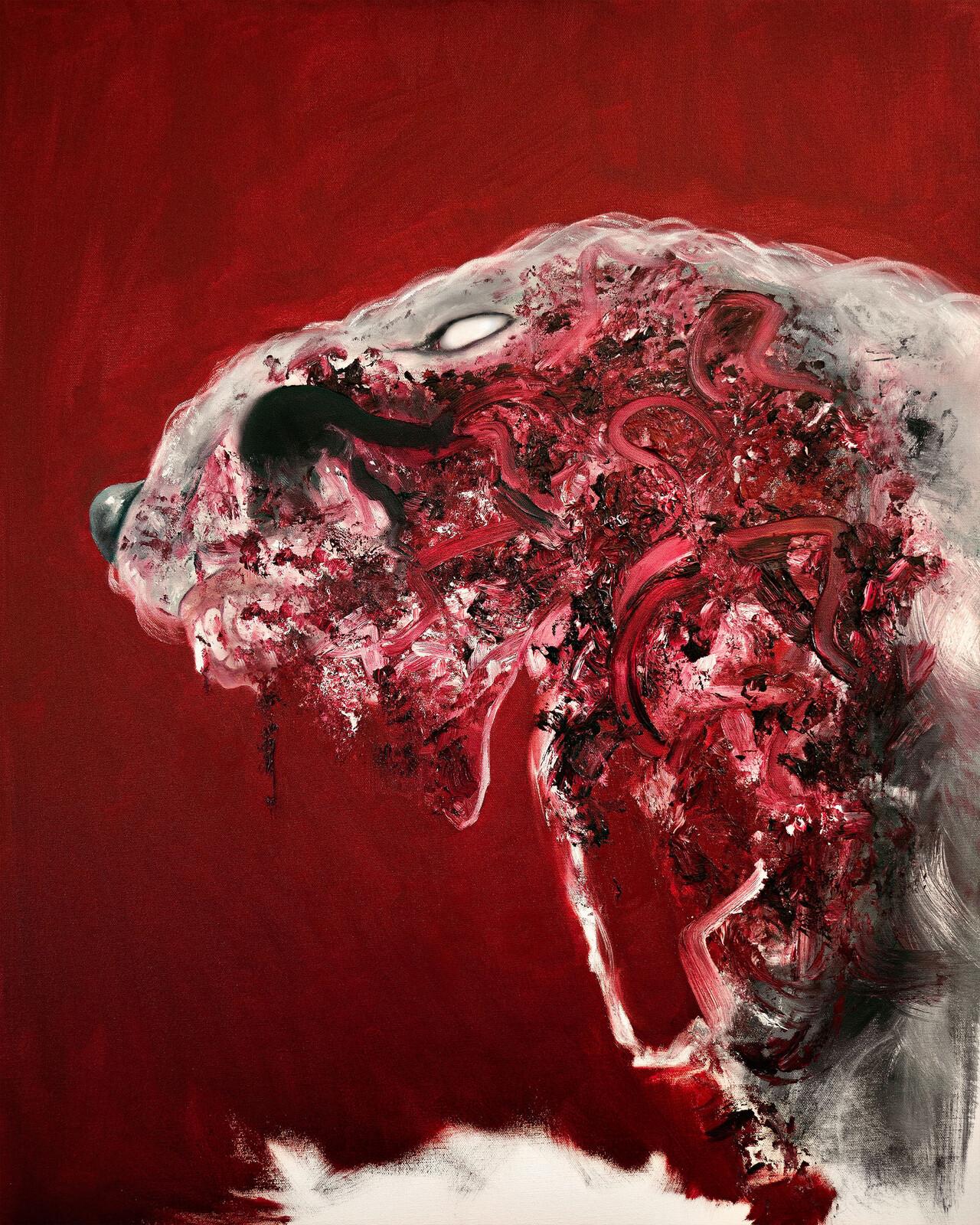 Hound (Oils).