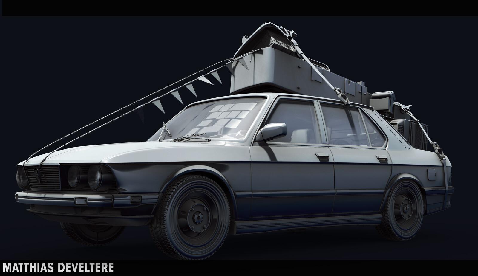 BMW- OLD WORK - 2014