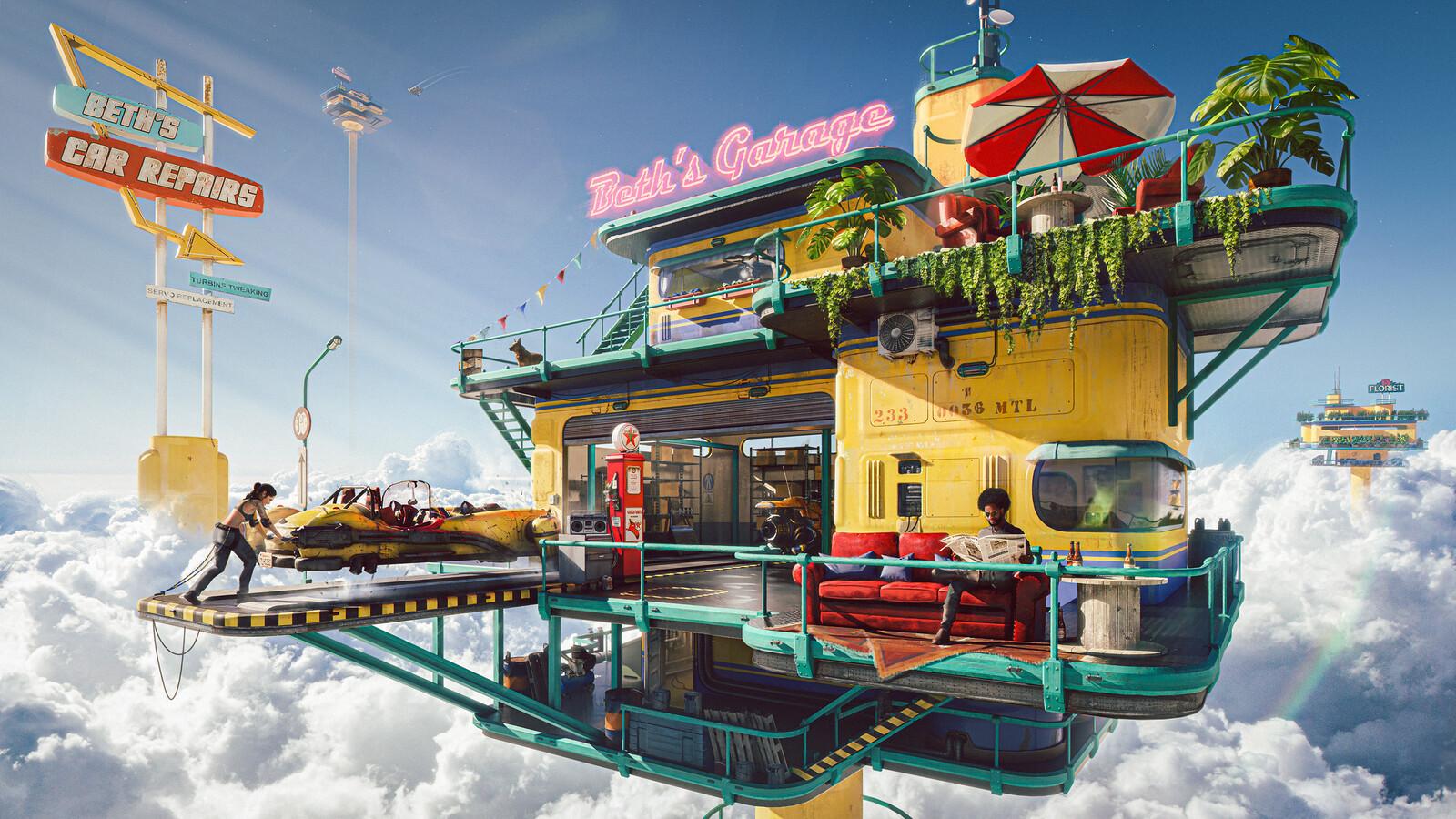 Beth's Sky Garage