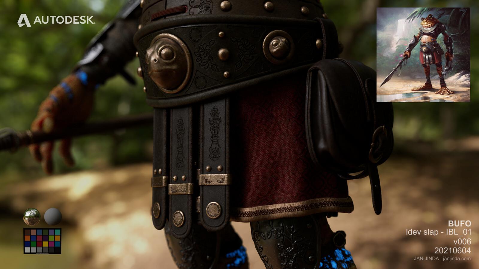 Close up lookdev 02