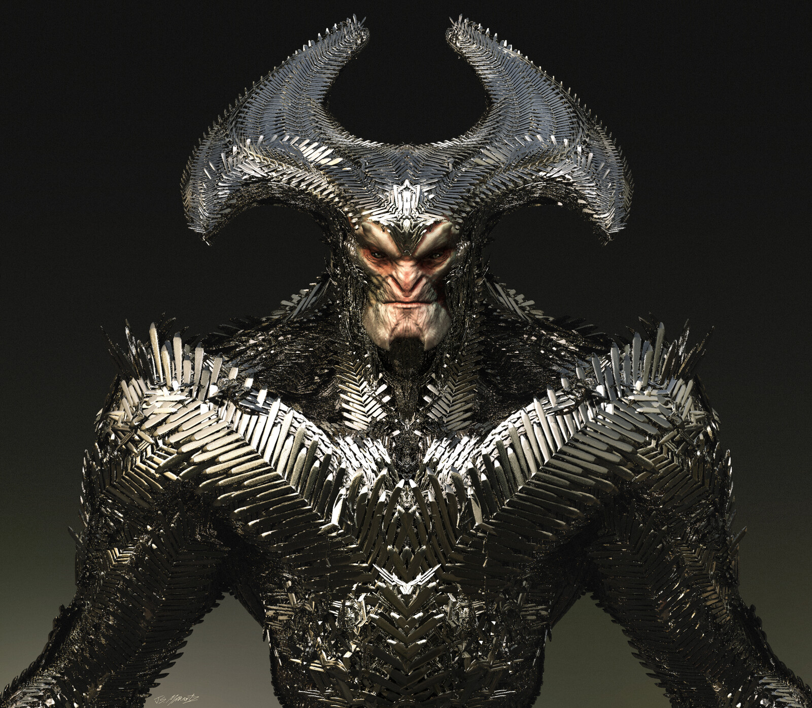 Steppenwolf Concept Model for Zack Snyder's Justice League
