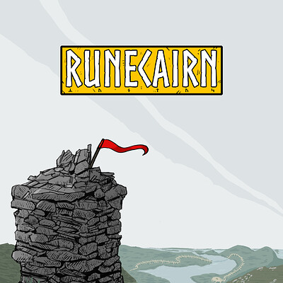 Colin le sueur runecairn front cover a5